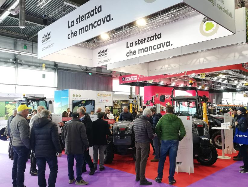 Carraro Tractors at Fieragricola; great satisfaction for the first fair in 2020