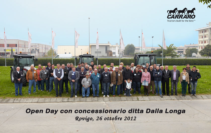Tre Cavallini: Open Day at Rovigo
