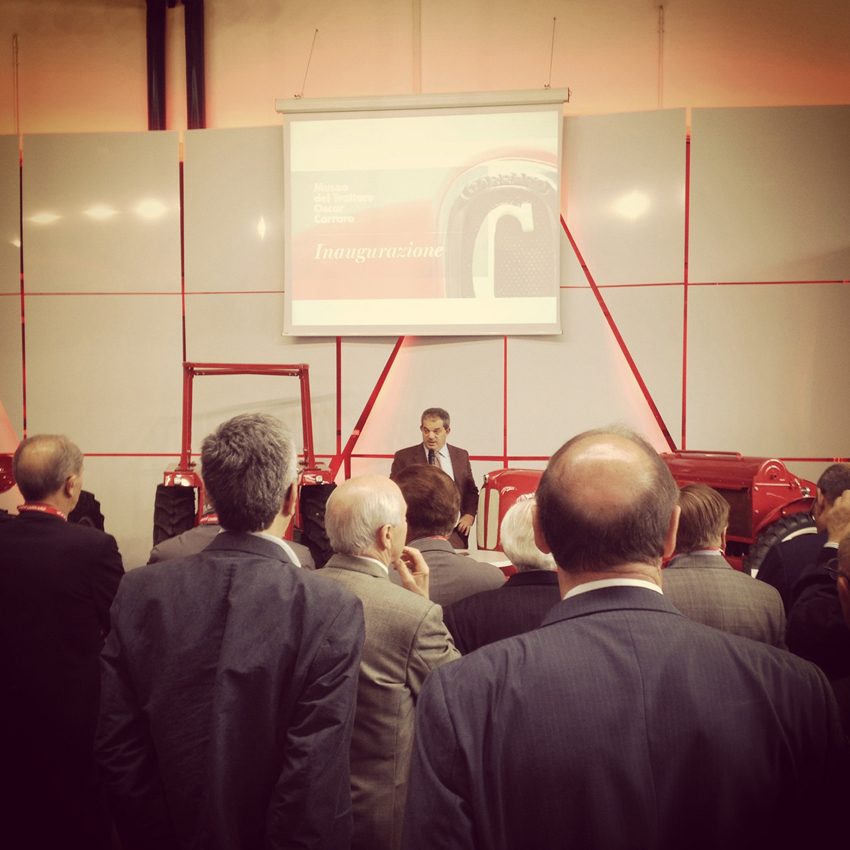 "The ""Oscar Carraro"" Tractor Museum is inaugurated"