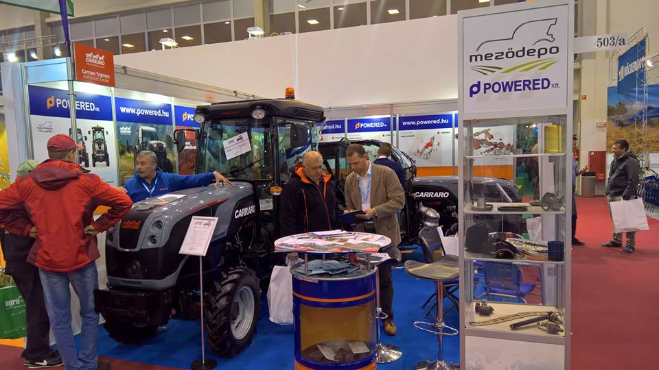 Carraro tractors and spare parts at AgroMash Expo (January 24-28)