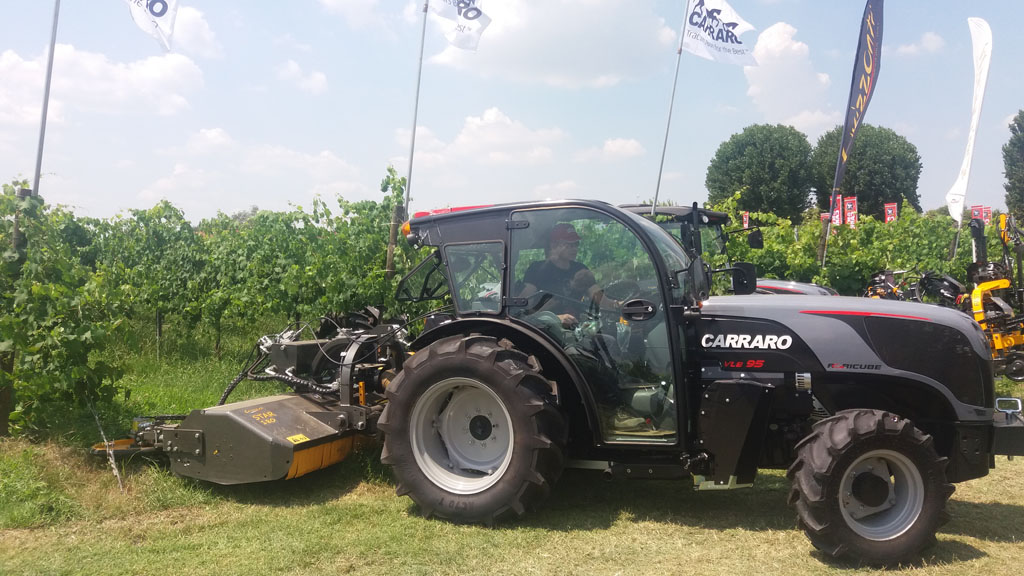 Carraro Tractors returns to Enovitis in Campo 2018