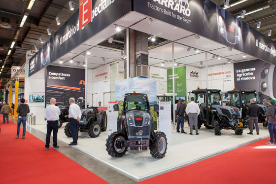 Great success for Carraro at EIMA